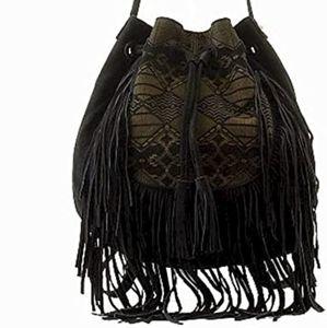 Steve Madden BSTEVIE Boho Fringe Bag